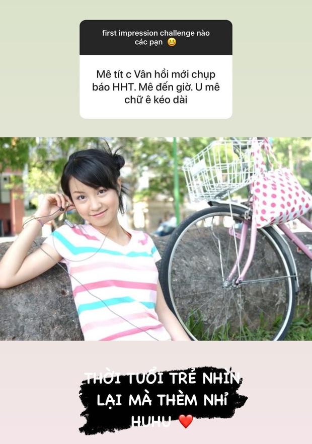 Mi Vân khoe ảnh thẻ hồi cấp 2, vị trí tượng đài nhan sắc làng hot girl xem chừng khó vào tay người khác - Ảnh 3.
