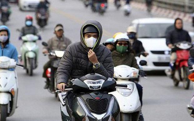 Không khí lạnh đã chính thức đổ bộ, nhiệt độ Hà Nội thấp nhất chỉ 23 độ C - Ảnh 1.
