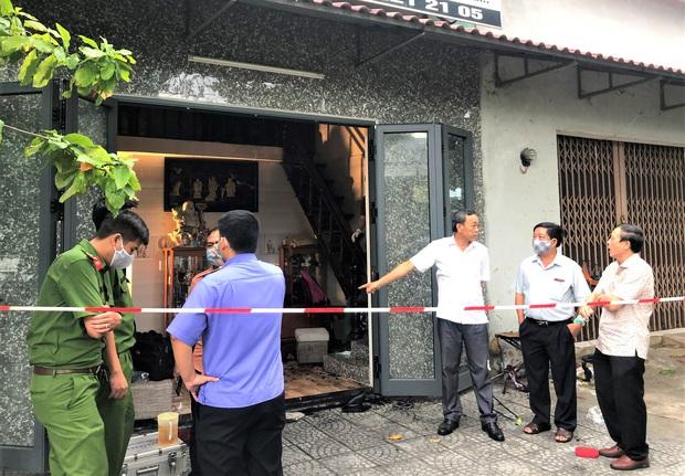 Đà Nẵng: Cháy nhà trong bão, 2 cha con bị thương nặng - Ảnh 3.