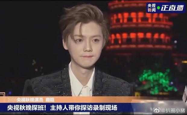 Luhan gây sốc với nhan sắc tuổi 30: Ma cà rồng hack tuổi đỉnh cao, bất chấp cả camera truyền hình quốc gia - Ảnh 5.