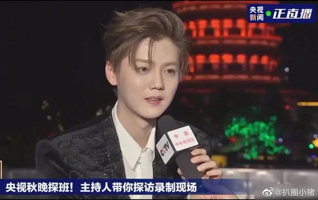 Luhan gây sốc với nhan sắc tuổi 30: Ma cà rồng hack tuổi đỉnh cao, bất chấp cả camera truyền hình quốc gia - Ảnh 6.