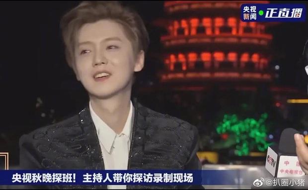 Luhan gây sốc với nhan sắc tuổi 30: Ma cà rồng hack tuổi đỉnh cao, bất chấp cả camera truyền hình quốc gia - Ảnh 8.