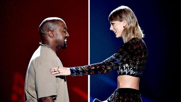 Lật mặt như bánh tráng chính là Kanye West: Vốn là kẻ thù, giờ ra vẻ đòi bản quyền cho Taylor Swift nhưng bị lơ đẹp - Ảnh 3.