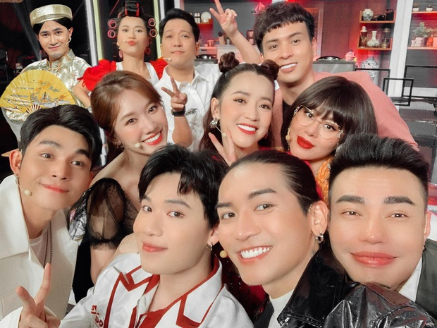 Cả Vbiz hội ngộ trong một khung hình: Trường Giang - Hari Won nhường spotlight cho màn ké ảnh giả trân của Huỳnh Lập - Ảnh 2.