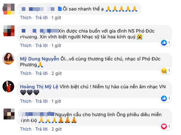 Tùng Dương, Thu Minh và dàn sao Vbiz xót thương khi hay tin nhạc sĩ Phó Đức Phương qua đời: Âm nhạc của ông sẽ luôn sống mãi! - Ảnh 5.