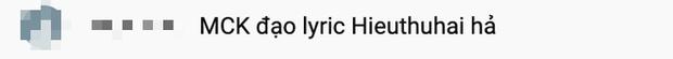 Dân tình bóc mẽ cách chơi vần của át chủ bài team Karik hình như mượn lyrics của HIEUTHUHAI? - Ảnh 6.