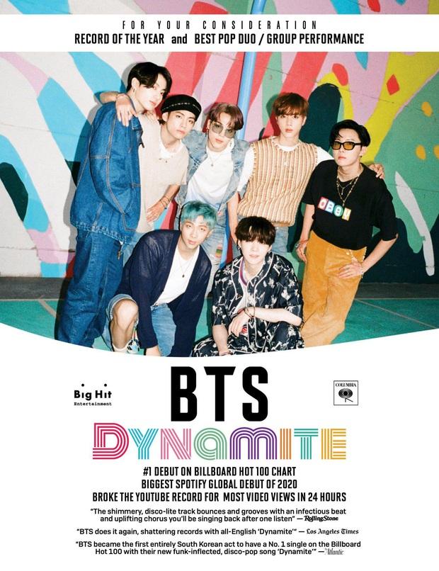 Xôn xao việc BTS nộp đề cử Grammy 2021, liệu boygroup nhà Big Hit có tiếp tục viết nên lịch sử? - Ảnh 2.