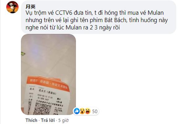 """Giật mình với nạn vé xem Mulan ở Trung Quốc bị """"trộm long tráo phụng"""" thành phim khác, quê nhà ơi có cần tuyệt tình thế không? - Ảnh 3."""