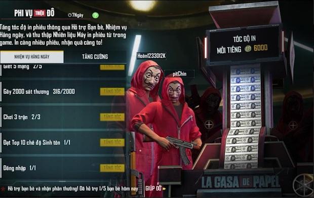 Free Fire bất ngờ công bố hợp tác cùng phim Phi Vụ Triệu Đô, game thủ ngồi không cũng nhận được hàng loạt vật phẩm miễn phí - Ảnh 2.