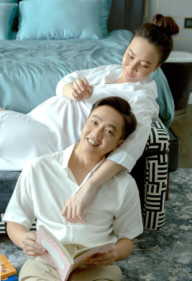 Vợ chồng Cường Đô La trốn con hẹn hò cuối tuần, nhan sắc của mẹ bỉm Đàm Thu Trang gây chú ý - Ảnh 6.