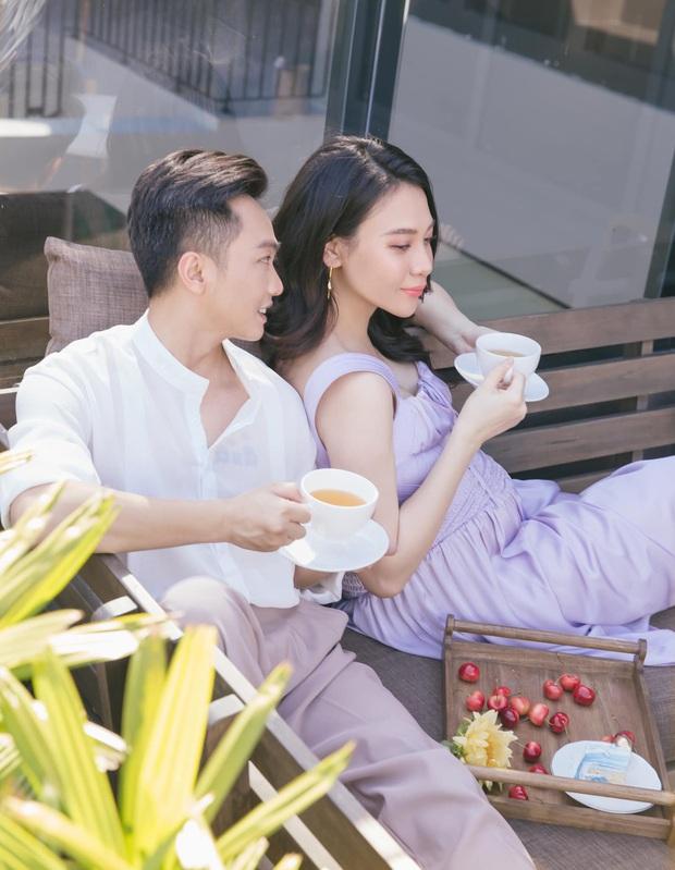 Vợ chồng Cường Đô La trốn con hẹn hò cuối tuần, nhan sắc của mẹ bỉm Đàm Thu Trang gây chú ý - Ảnh 5.