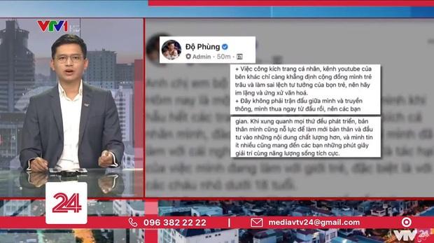 Hot: BTV Việt Hoàng và cộng sự lên tiếng cám ơn Độ Mixi ngay trên sóng truyền hình VTV - Ảnh 2.