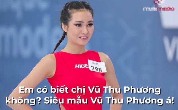Next Top Model: Gái xinh tên độc Huỳnh Thị Biết Điều cosplay siêu mẫu Vũ Thu Phương - Ảnh 3.