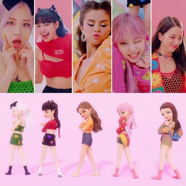 BLACKPINK và Selena Gomez tung thêm MV lyrics phiên bản video call tại nhà, mỗi cô một nơi nhưng ai cũng sexy xinh xắn hết! - Ảnh 7.