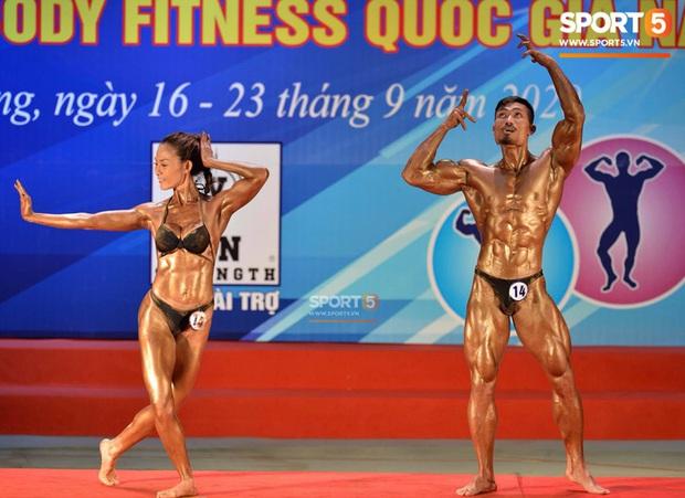 Hot TikToker Phan Bảo Long giành HCV thể hình đôi nam nữ quốc gia - Ảnh 7.