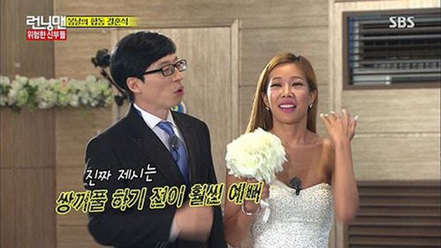 Sẵn sàng tát bay mặt đàn anh, nhưng rapper chị đại lại phải nhắn tin xin lỗi Yoo Jae Suk sau mỗi lần ghi hình? - Ảnh 6.