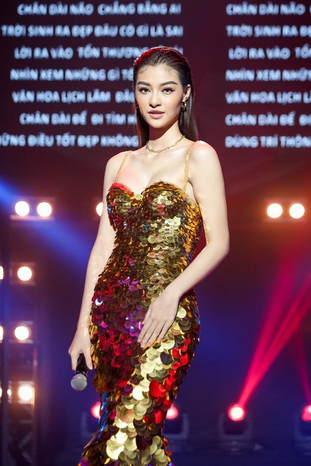Á hậu Kiều Loan nhận về phản ứng trái ngược khi khoe tài Rap trên 2 show truyền hình - Ảnh 9.