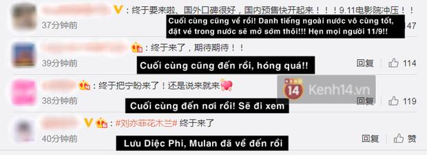 """Mulan chính thức tiến đánh rạp Trung với poster cũ mèm như """"năm 1900 hồi đó"""" - Ảnh 3."""
