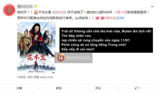 """Mulan chính thức tiến đánh rạp Trung với poster cũ mèm như """"năm 1900 hồi đó"""" - Ảnh 4."""