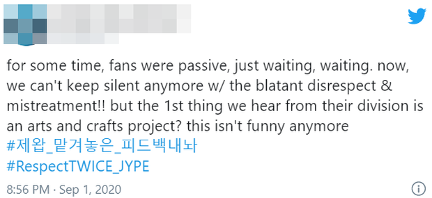 TWICE 5 lần 7 lượt bị đối xử bất công, quảng bá comeback nghèo nàn khiến fan phẫn nộ phải ra tối hậu thư với JYP - Ảnh 9.