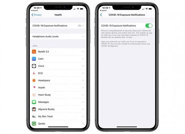 Bản cập nhật chính thức iOS 13.7 trên iPhone, có tính năng cảnh báo nguy cơ nhiễm Covid-19 - Ảnh 3.