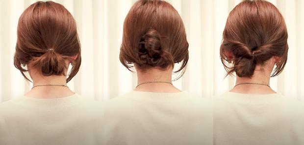 Tóc lỡ cỡ vẫn búi được kiểu Hàn siêu xinh: 3 cách búi thấp giúp chị em lên hương nhan sắc chỉ trong 1 nốt nhạc - Ảnh 2.