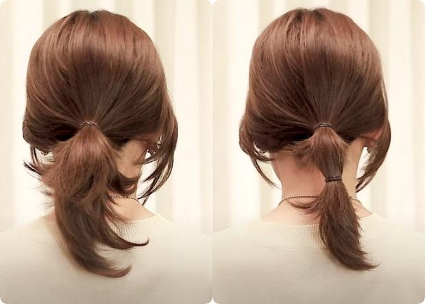 Tóc lỡ cỡ vẫn búi được kiểu Hàn siêu xinh: 3 cách búi thấp giúp chị em lên hương nhan sắc chỉ trong 1 nốt nhạc - Ảnh 3.