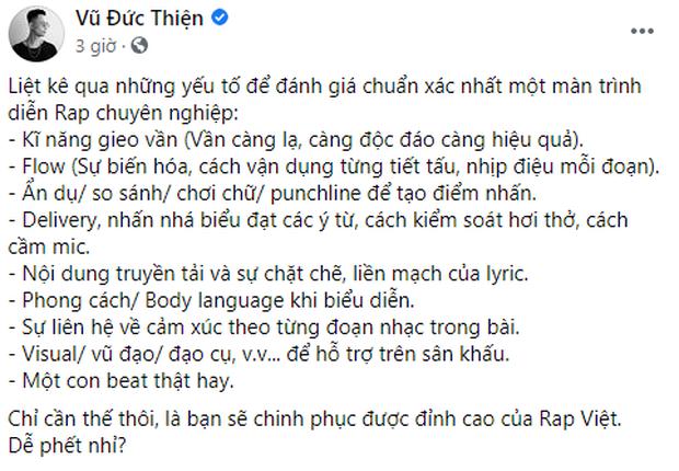 Rhymastic tiết lộ cách chiến thắng tại Rap Việt nghe dễ phết, fan đọc xong toát mồ hôi hột! - Ảnh 1.