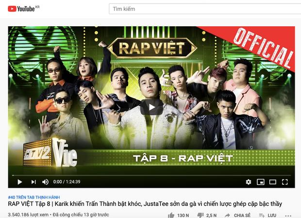 Team Karik giúp Rap Việt có thêm top 1 trending, Wowy lại tiếc nuối cho đội của mình - Ảnh 2.