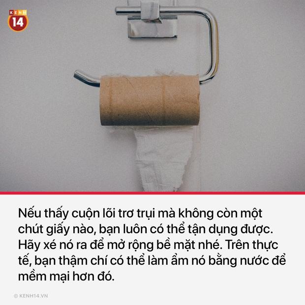 10 thứ không ai ngờ tới có thể thay thế giấy vệ sinh khi bạn lâm vào hoàn cảnh éo le trong toilet: Hết giấy - Ảnh 7.