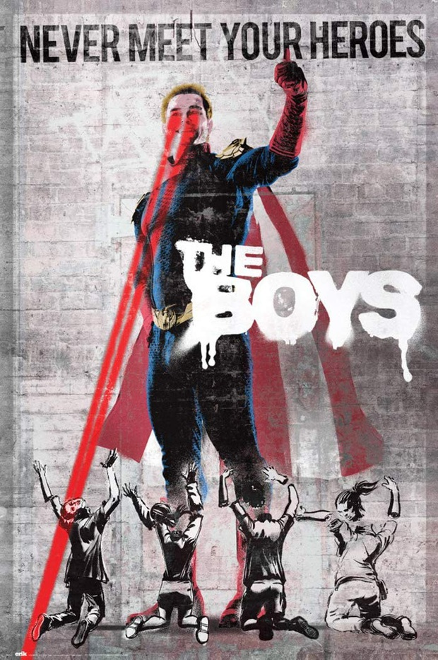 Phim siêu anh hùng The Boys: Đạo nhái trắng trợn DC - Marvel vẫn bánh cuốn bởi độ đen tối rợn người! - Ảnh 4.