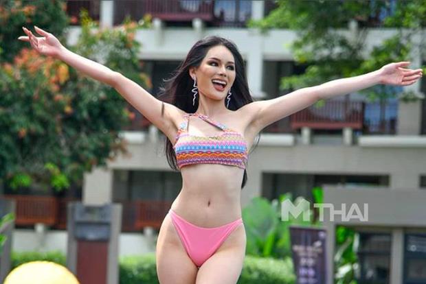 Chung kết Miss Grand Thailand 2020: Á hậu 4 gây sốt với màn catwalk xoay 4 vòng như lốc xoáy, át cả nhan sắc tân Hoa hậu - Ảnh 8.