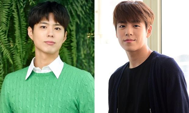 7 cặp diễn viên Hàn giống nhau đến fan cũng ngỡ ngàng: Park Bo Gum, Nam Joo Hyuk đều có anh em thất lạc? - Ảnh 10.