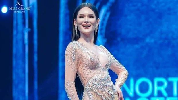 Chung kết Miss Grand Thailand 2020: Á hậu 4 gây sốt với màn catwalk xoay 4 vòng như lốc xoáy, át cả nhan sắc tân Hoa hậu - Ảnh 3.