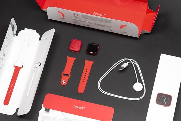 Mở hộp Apple Watch Series 6 màu đỏ và những ấn tượng ban đầu - Ảnh 1.