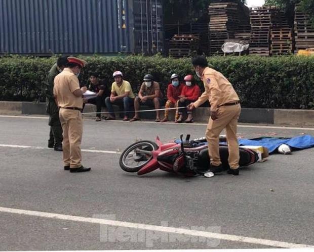 Va chạm với xe container, hai người đàn ông chết tại chỗ - Ảnh 3.