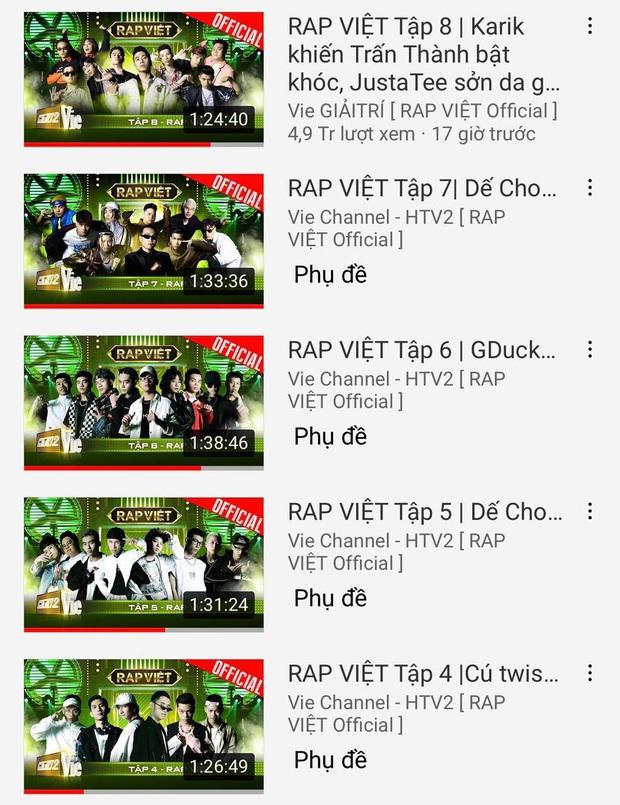 Team Karik giúp Rap Việt có thêm top 1 trending, Wowy lại tiếc nuối cho đội của mình - Ảnh 5.
