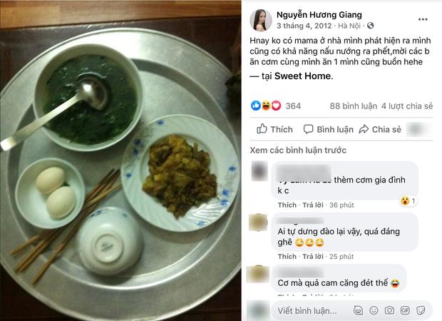 Fans bất ngờ lục lại ảnh Hương Giang nấu nướng 8 năm trước, gọi cả anh rể Matt Liu vào ăn cơm nhà - Ảnh 1.