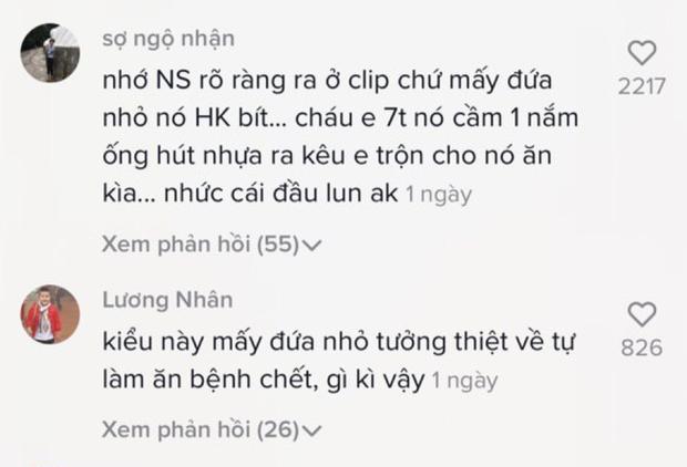 SỐC: TikToker Trung Quốc làm clip ăn ống hút nhặt từ thùng rác, cư dân mạng bình luận đã có trẻ con đòi bắt chước làm theo? - Ảnh 8.