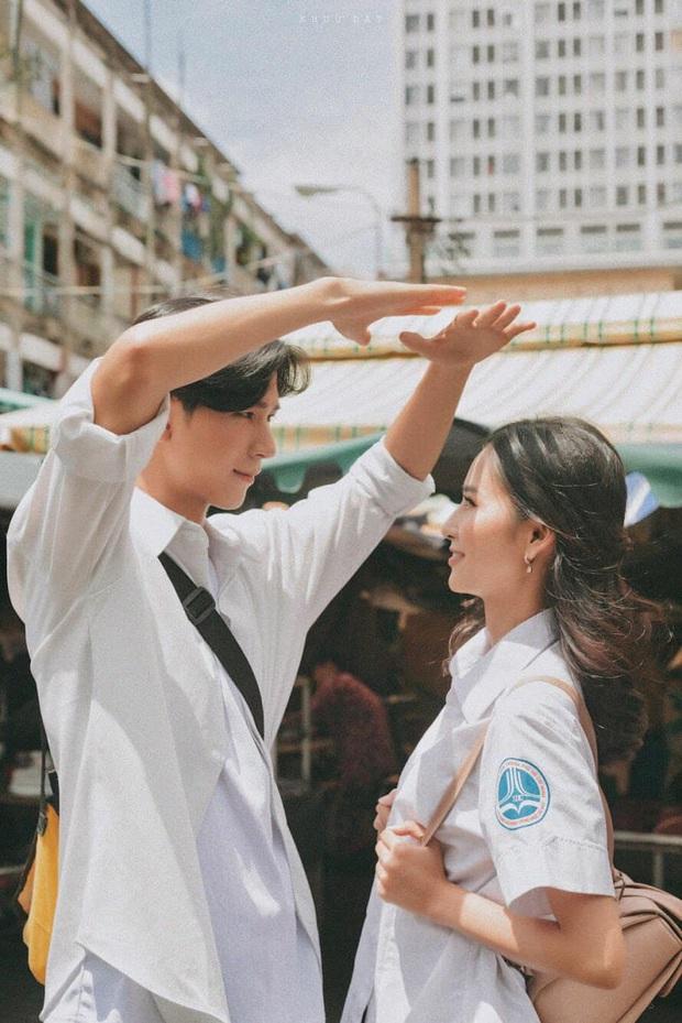 Couple trai xinh gái đẹp chiếm spotlight vì loạt ảnh lịm tim: Tuổi 17 năm ấy nợ chúng ta một mối tình như vậy! - Ảnh 8.