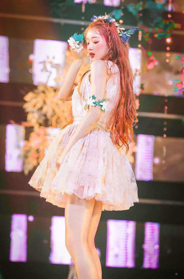 Nhan sắc mỹ nhân vừa vượt mặt BLACKPINK và nữ thần Red Velvet: Trên sân khấu gây sốt vì đẹp đến mức tưởng tiên tử đời thực - Ảnh 6.