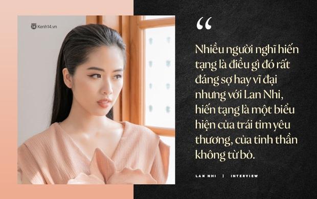 """Lan Nhi - BTV từng mang phim Việt đến Cannes dự thi Hoa Hậu Việt Nam 2020: """"Tôi không đi thi để đổi đời! - Ảnh 10."""