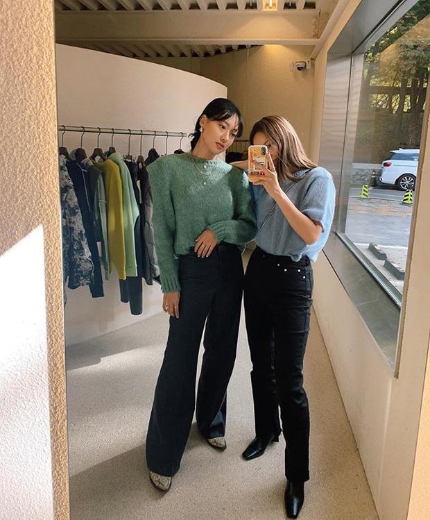 Jeans ống loe: Chiếc quần tôn dáng bậc nhất thu này nhưng liệu bạn đã biết cách diện chuẩn? - Ảnh 6.