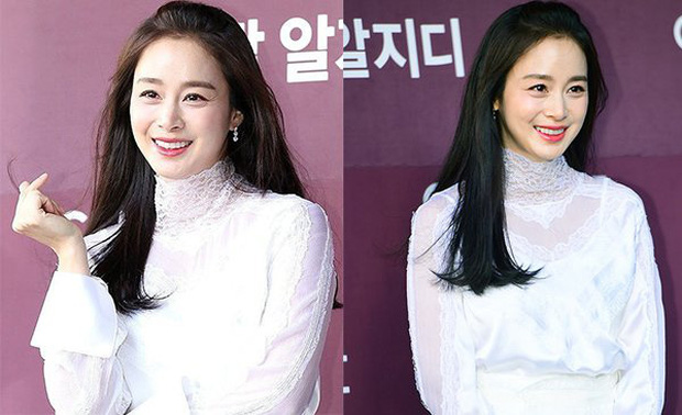 Bóc mẽ nhan sắc thật của Kim Tae Hee gần đây: Nữ thần lộ loạt khuyết điểm, ảnh hậu trường khác một trời một cực so với poster giả trân - Ảnh 6.