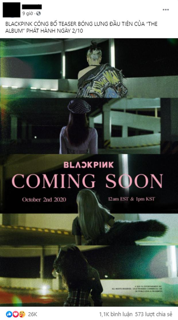 HOT: BLACKPINK đánh úp poster đầu tiên của full album, khoe lưng nuột nà nhưng đến fan nhìn cũng... chẳng biết ai là ai! - Ảnh 4.