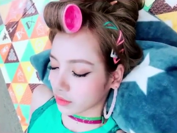 Idol Hàn chợp mắt với nguyên lớp makeup: Xem vừa thương vừa nhận ra toàn cực phẩm nhan sắc, đến ngủ cũng đẹp - Ảnh 3.