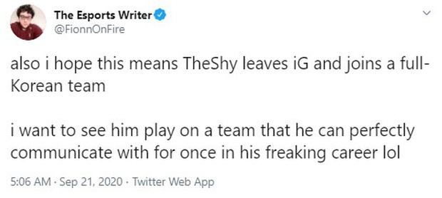 TheShy sẽ trở về Hàn Quốc sau một mùa giải thất bại toàn tập, liệu T1 có phải điểm đến lý tưởng? - Ảnh 1.