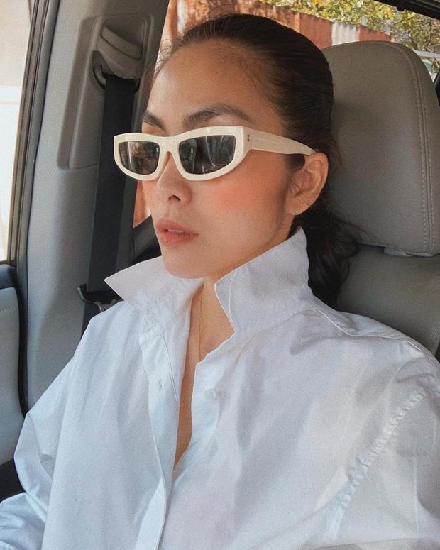 Công thức chung khi chụp ảnh selfie của Hà Tăng, chị em học theo thì bức nào cũng đẹp  - Ảnh 5.