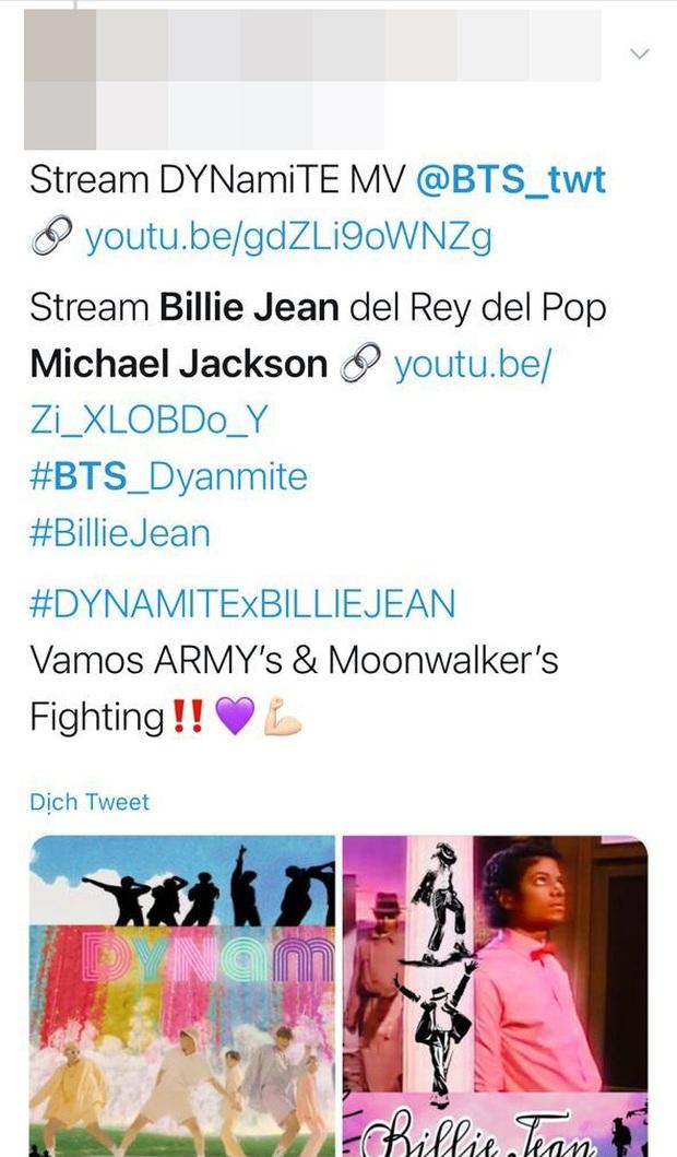 Dở khóc dở cười: Fan của Michael Jackson đang nhờ cậy fan BTS ủng hộ để đánh bại Whitney Houston trong cuộc chiến tỉ view? - Ảnh 6.