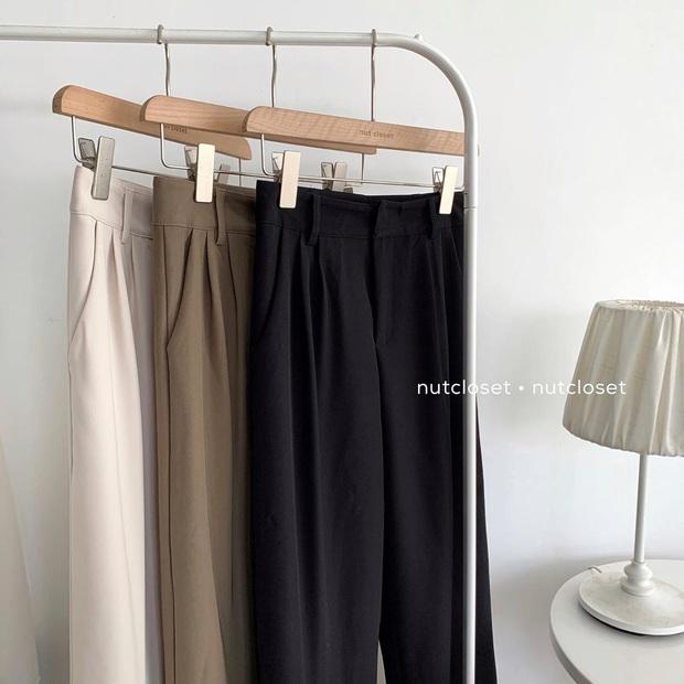 Mải diện quần đen, nhiều nàng không hề biết quần nâu cực sang và tây, không sắm là thiệt  - Ảnh 11.